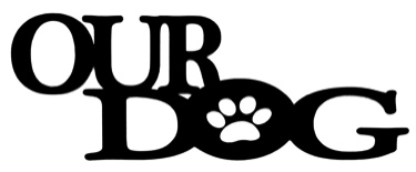 Our Dog Scrapbooking Laser Cut Title with paw print