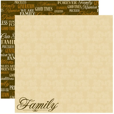 Family Tree Scrapbooking Paper Stickers Scrapbook Album