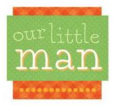 Our Little Man Scrapbooking Die Cut Sticker