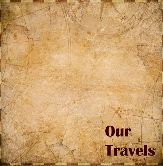 Our Travels 12x12 Scrapbooking Paper