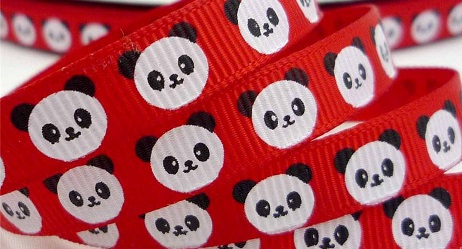 Panda Self Adhesive Scrapbooking Ribbon