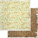 Paradiso Relaxation 12x12 Double Sided Scrapbooking Paper