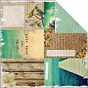 Paradiso Sunsets 12x12 Double Sided Scrapbooking Paper