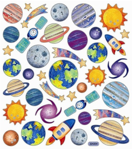Amazoncom space scrapbook paper