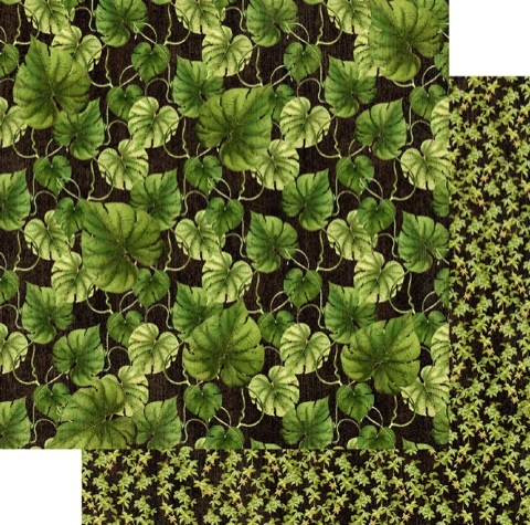 Rainforest Double Sided 12x12 Scrapbooking Paper