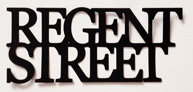 Regent Street Scrapbooking Laser Cut Title