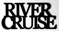 River Cruise Scrapbooking Laser Cut Title