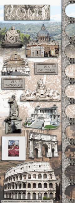 Rome Cardstock Scrapbooking Stickers