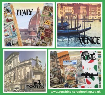 Italy Scrapbooking Supplies