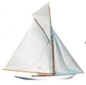 Sailing Boat Die Cut Scrapbooking Sticker