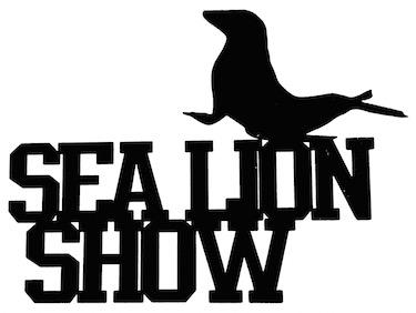 Sea Lion Show Scrapbooking Laser Cut Title With Sea Lion