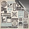 Sign Posts 12x12 Double Sided Scrapbooking Paper