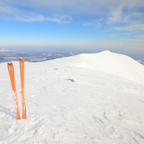 Skiing 12x12 Scrapbooking Paper