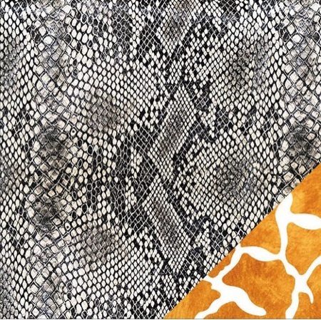 Snake Skin 12x12 Double Sided Scrapbooking Paper