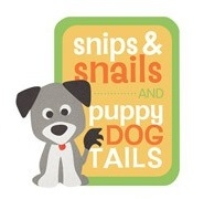 Snips and Snails Die Cut Scrapbooking Sticker