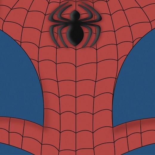 Universal Spiderman 12x12 Scrapbooking Paper