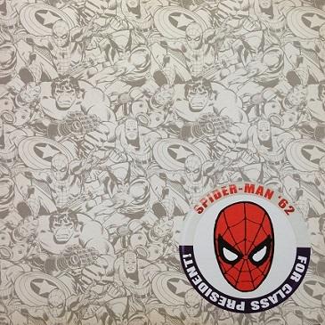 Spiderman 62 12x12 Scrapbooking Paper