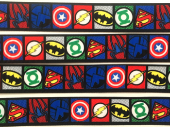 Super Hero Self Adhesive Scrapbooking Ribbon