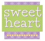 Sweet Heart Die Cut Scrapbooking Sticker