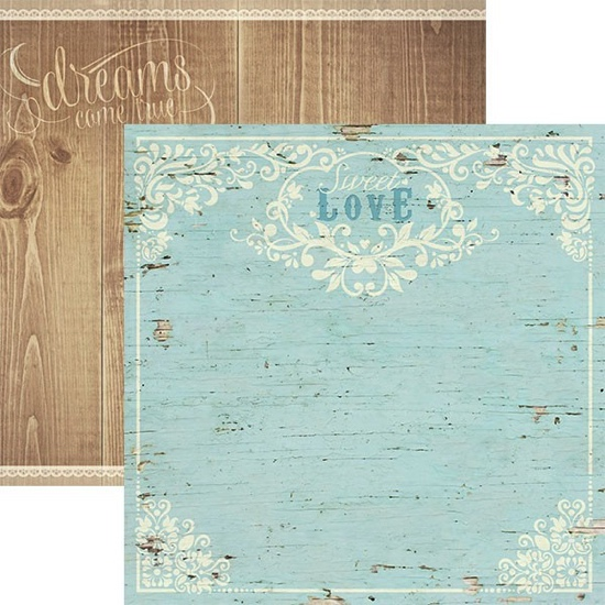 Sweet Love 12x12 Double Sided Scrapbooking Paper