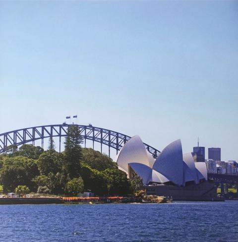 Sydney Harbour 12x12 Scrapbooking Paper