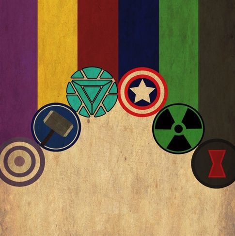 The Avengers 12x12 Scrapbooking Paper