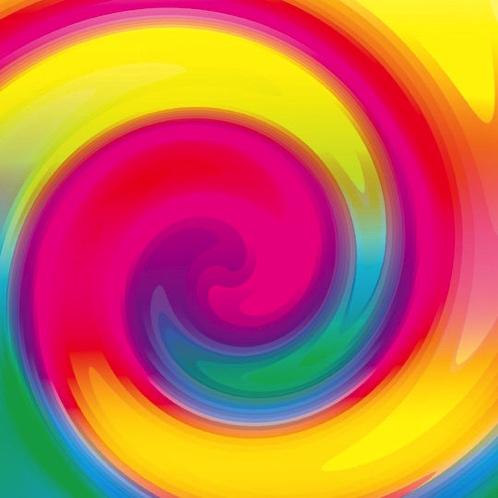 Colour Swirl 12x12 Scrapbooking Paper