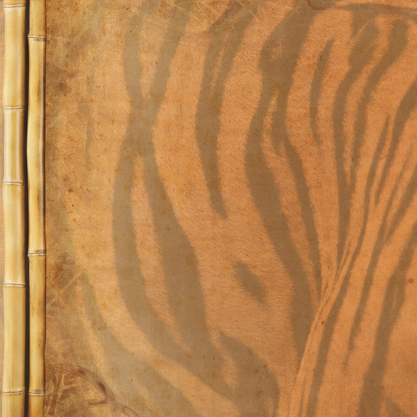 Tiger Stripes 12x12 Scrapbooking Paper