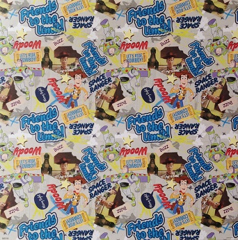 Toy Story Friends To The Limit 12x12 Scrapbooking Paper