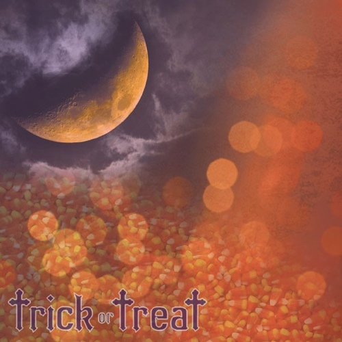Trick or Treat 12x12 Scrapbooking Paper