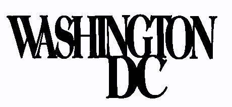 Washington DC Scrapbooking Laser Cut Title
