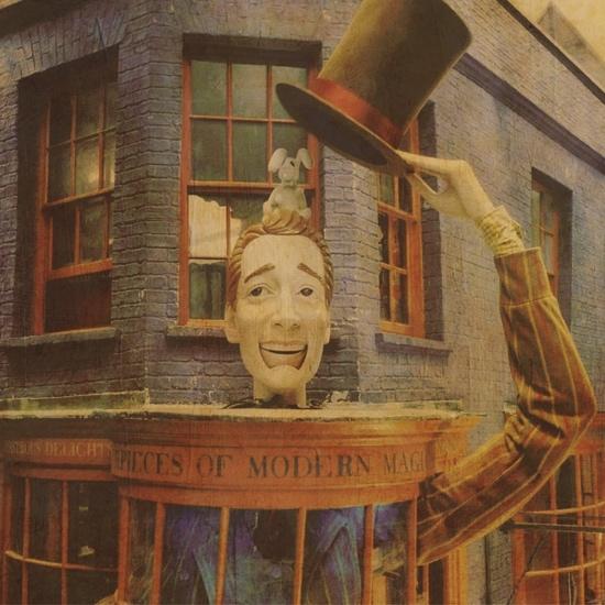 Harry Potter Wizard Wheezes 12x12 Scrapbooking Paper