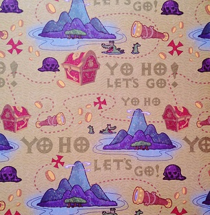 Yo Ho Let's Go 12x12 Scrapbooking Paper