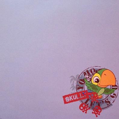 Yo Ho Skully 12x12 Scrapbooking Paper