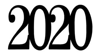 2020 Scrapbooking Laser Cut Title