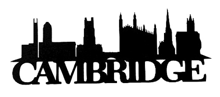 Cambridge Scrapbooking Laser Cut Title with Skyline