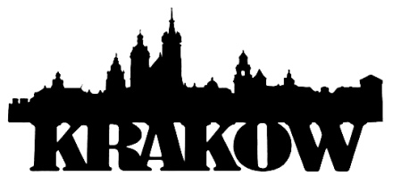 Krakow Scrapbooking Laser Cut Title with Skyline