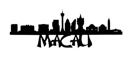 Macau Scrapbooking Laser Cut Title with Skyline