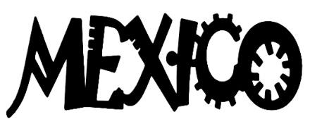 Mexico Scrapbooking Laser Cut Title