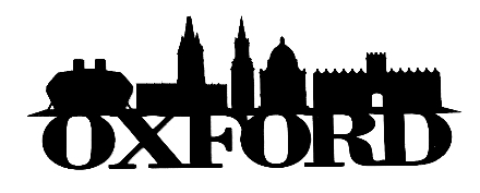 Oxford Scrapbooking Laser Cut Title with Skyline