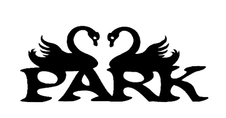 Park Scrapbooking Laser Cut Title with Swans