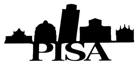 Pisa Scrapbooking Laser Cut Title with Skyline