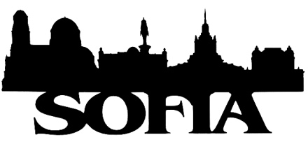 Sofia Scrapbooking Laser Cut Title with Skyline
