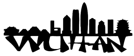Wuhan Scrapbooking Laser Cut Title with Skyline