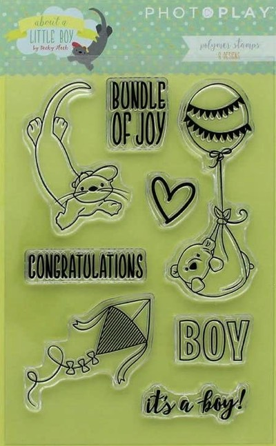 About a Little Boy Clear Stamp Set