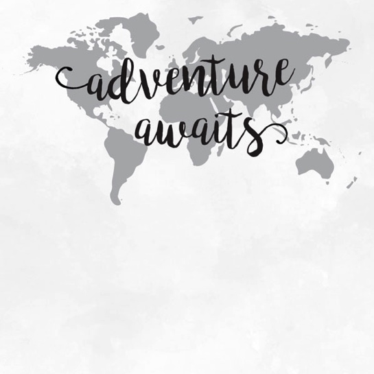 Adventure Awaits 12x12 Scrapbooking Paper