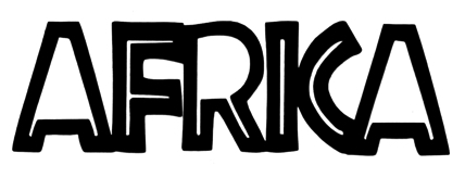 Africa Scrapbooking Laser Cut Title