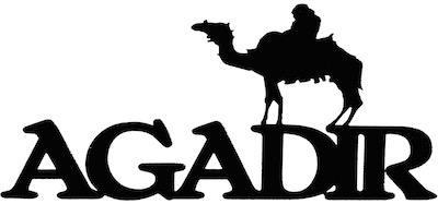 Agadir Scrapbooking Laser Cut Title with Camel