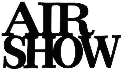Air Show Scrapbooking Laser Cut Title