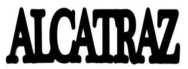 Alcatraz Scrapbooking Laser Cut Title